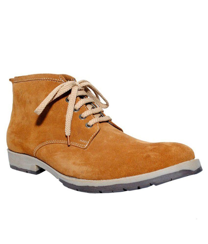 Magnolia Tan Boots