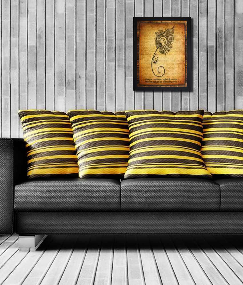 Saf Black Wooden Special Effect Painting
