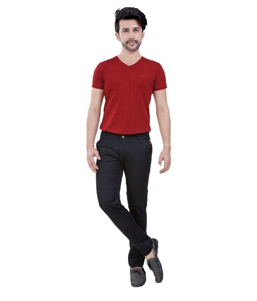 Fostil Black Slim Fit Jeans