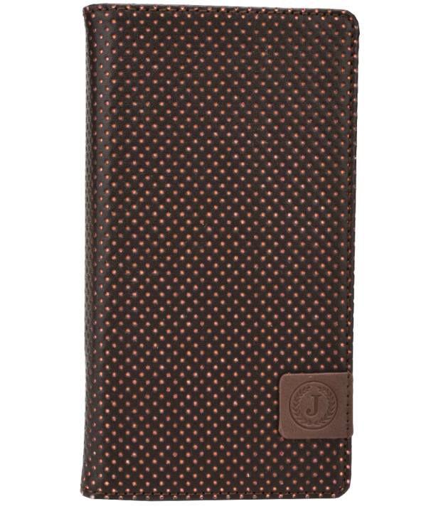 Jo Jo Flip Cover For Huawei Y300II - Brown