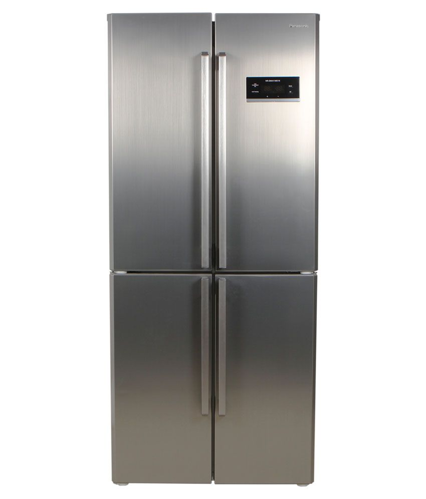 Panasonic 360 Ltrs Nr Bw 415 Vnx4 Bmr Frost Free Double Door Refrigerator Stainless Steel
