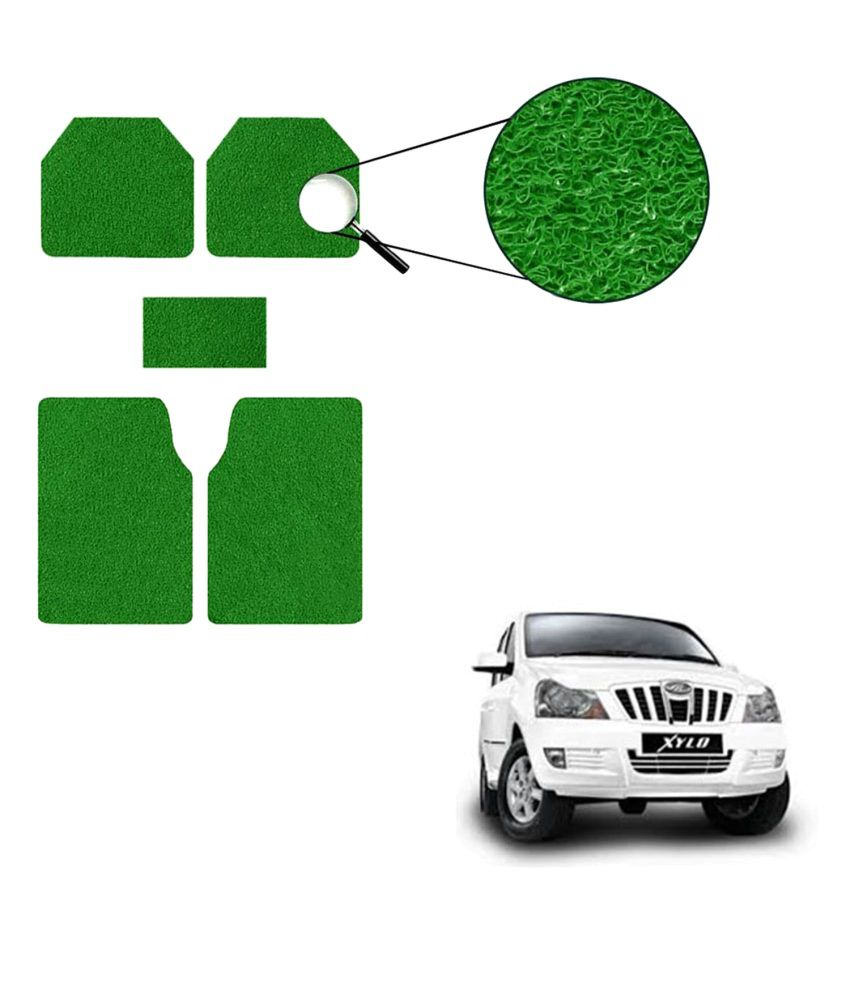 Allure Auto Car Mats For Mahindra Xylo Green Set Of 5 Buy Allure