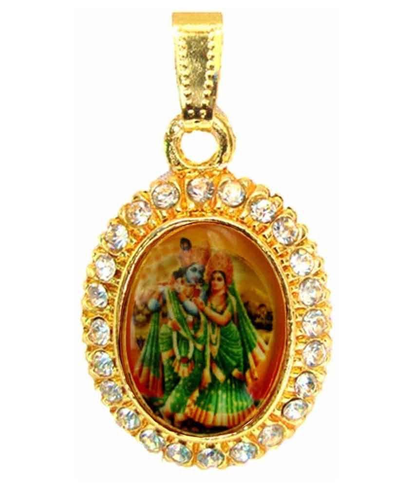 Beingwomen gold plated green radha krishna pendant buy beingwomen beingwomen gold plated green radha krishna pendant aloadofball Gallery