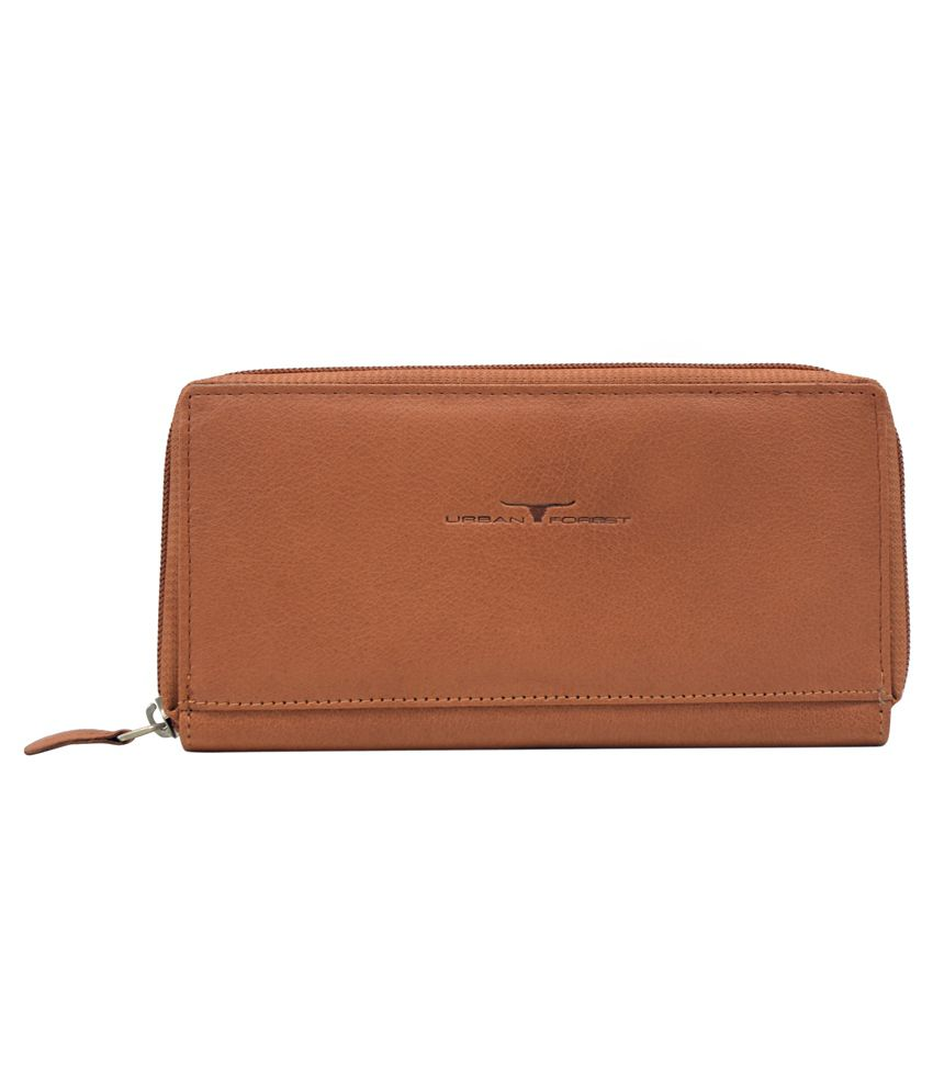 Urban Forest Tan Formal Wallet For Women