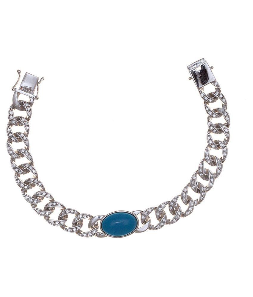 Mahalaxmi S 92 5 Sterling Silver Salman Khan Bracelet Buy