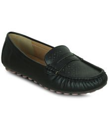Get Glamr Black Casual Shoes
