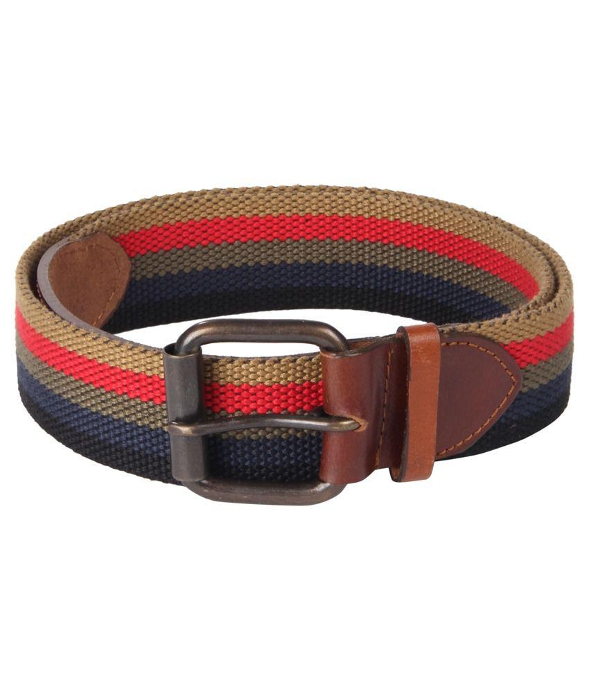 Kaizu Multicolour Casual Belt