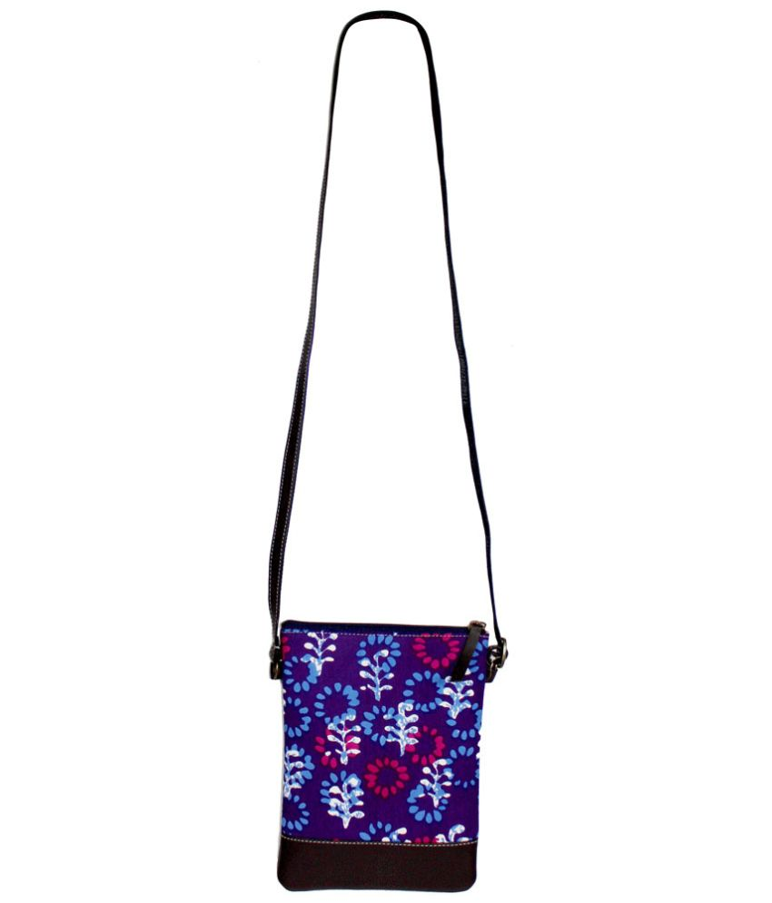 Zeztee Non Leather Sling Bag