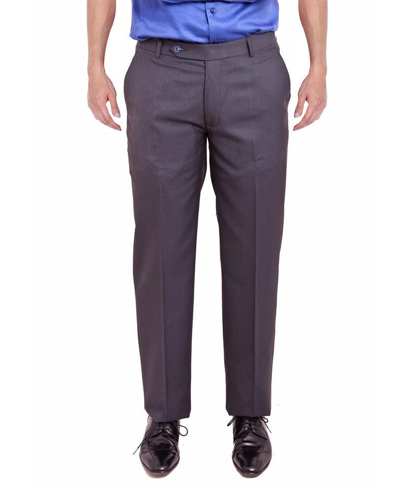 Nattg Black Slim Fit Trousers