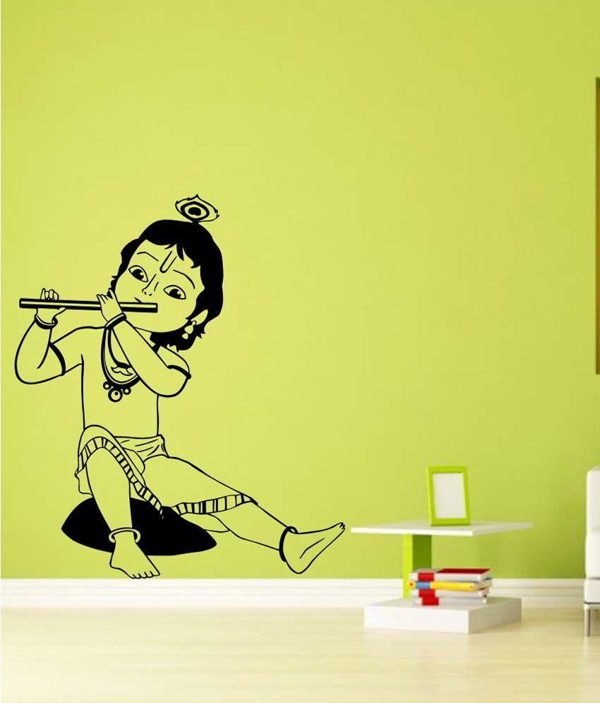 87+ Wall Painting Designs Krishna - Krishna Women And Flowers Canvas ...