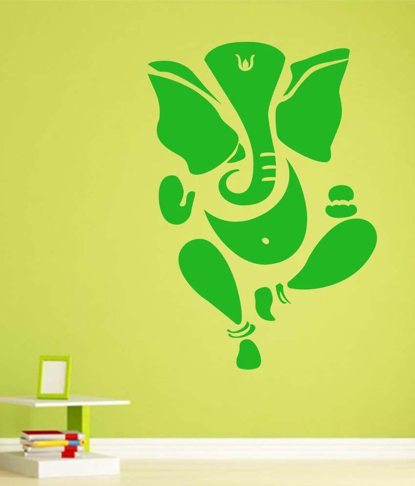 Trends on wall green pvc ganesh ji wall sticker buy trends on trends on wall green pvc ganesh ji wall sticker buycottarizona