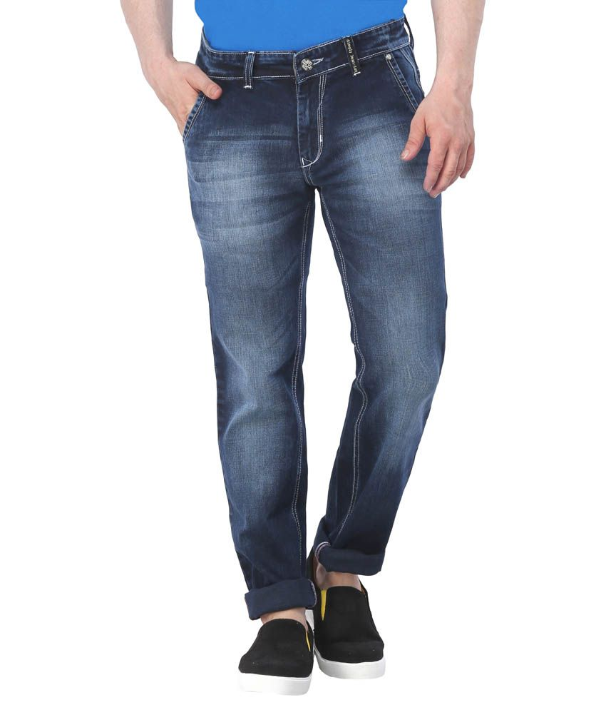 Triger Blue Slim Fit Jeans