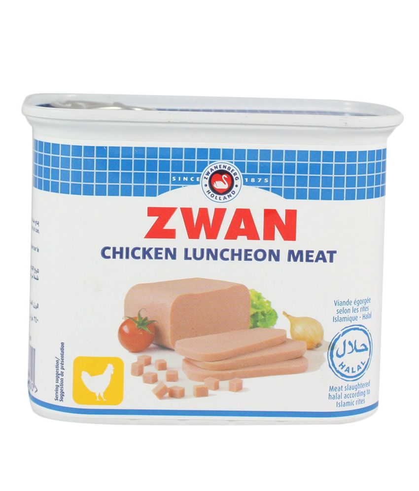 zwan chicken luncheon meat 340gm buy zwan chicken luncheon meat