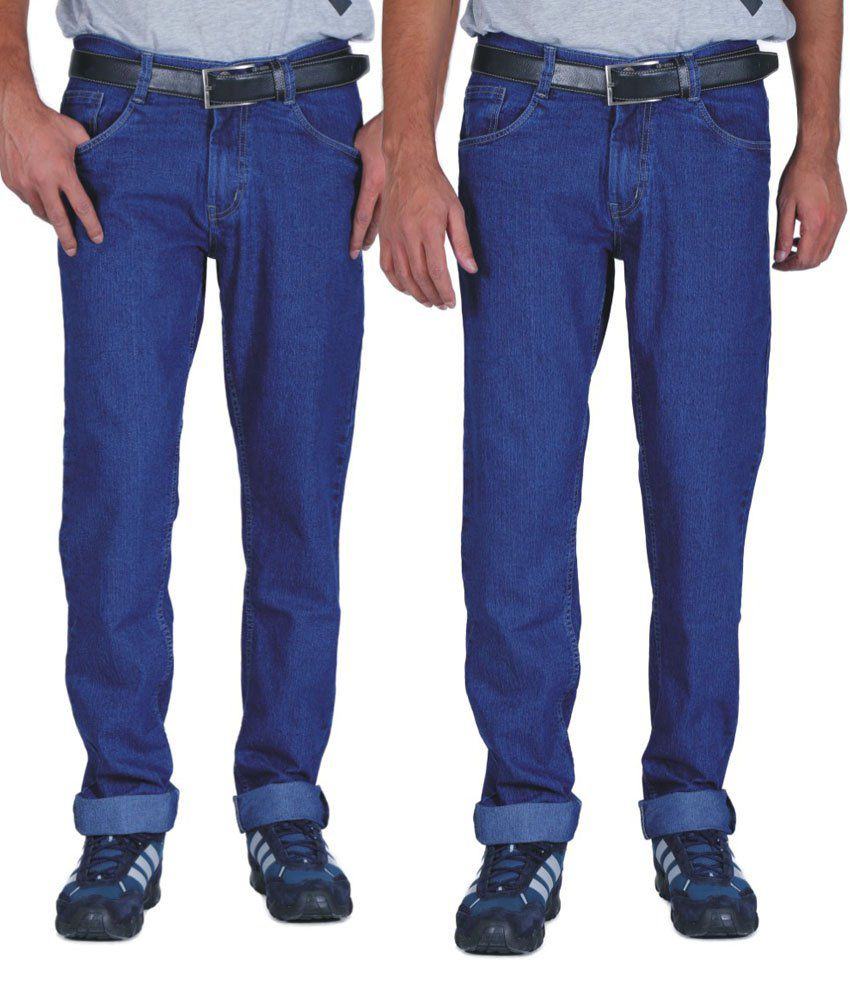 Focker Blue Slim Fit Jeans