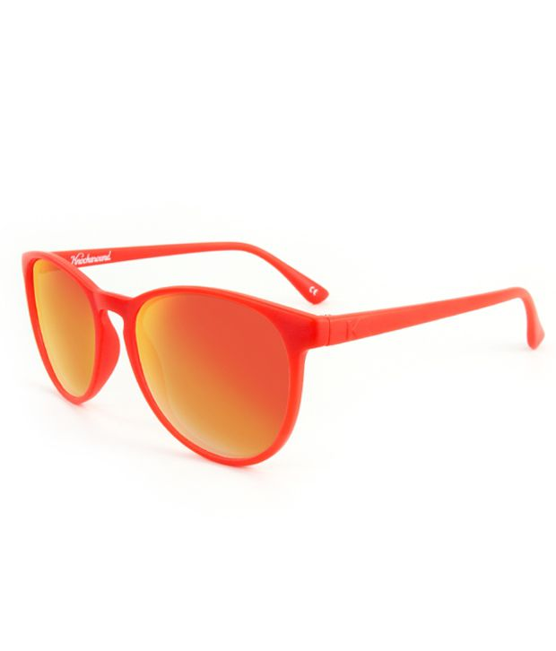Knockaround California MTGL1008 Mai Tais Red-Red Sunset Sunglasses