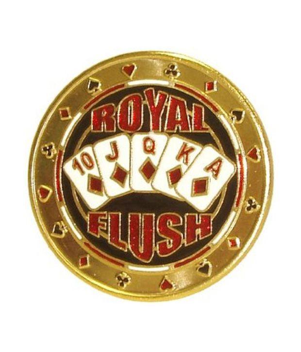 Casinoite Royal Flush Money Clip 2 inches