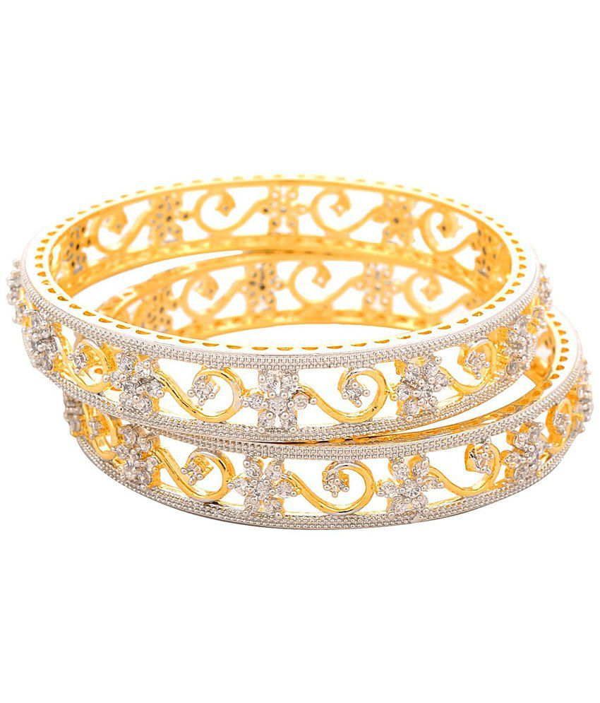 Jfl Jewellery For Less Gold Plated Bangles