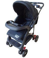 Luv Lap Baby Stroller Pram Sports Black - 18158