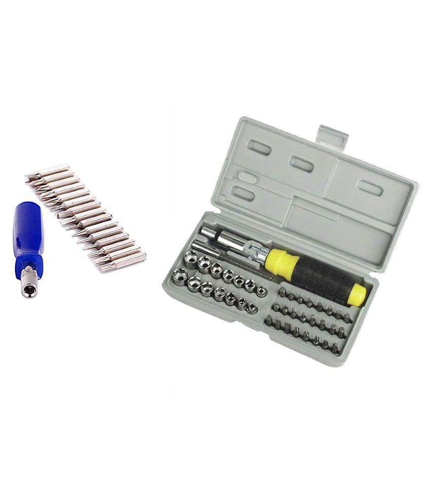 edeal jackly 16 pcs combination screwdriver set 41 pcs ratchet screwdriver set available at. Black Bedroom Furniture Sets. Home Design Ideas
