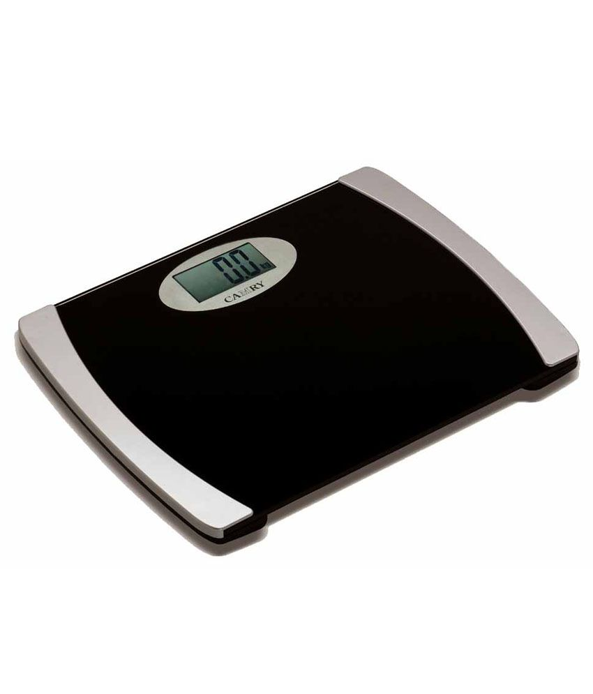 GVC Weighing Scale Personal Weight Machine-Black: Buy GVC ...