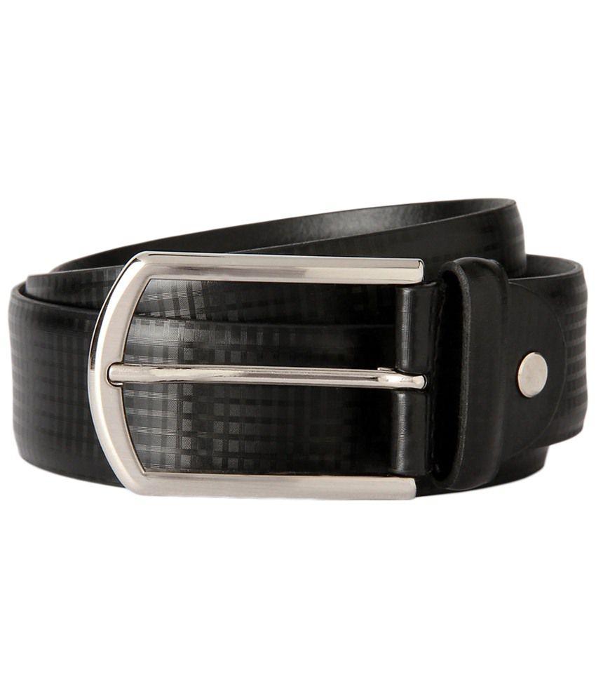 Peter England Black Party Wear Belt