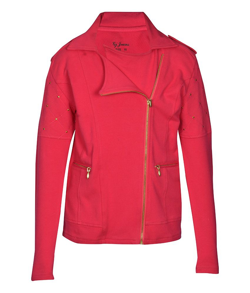 Gini & Jony Pink Full Sleeves Jacket