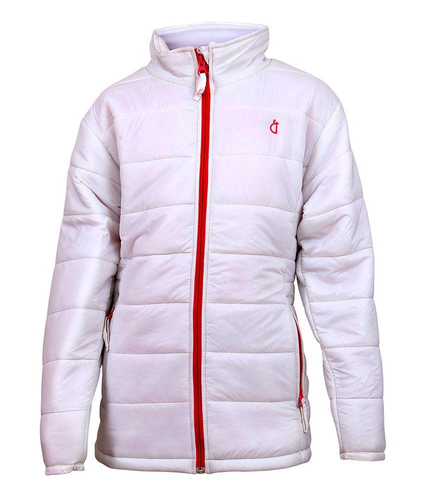 Gini & Jony White Full Sleeves Jacket