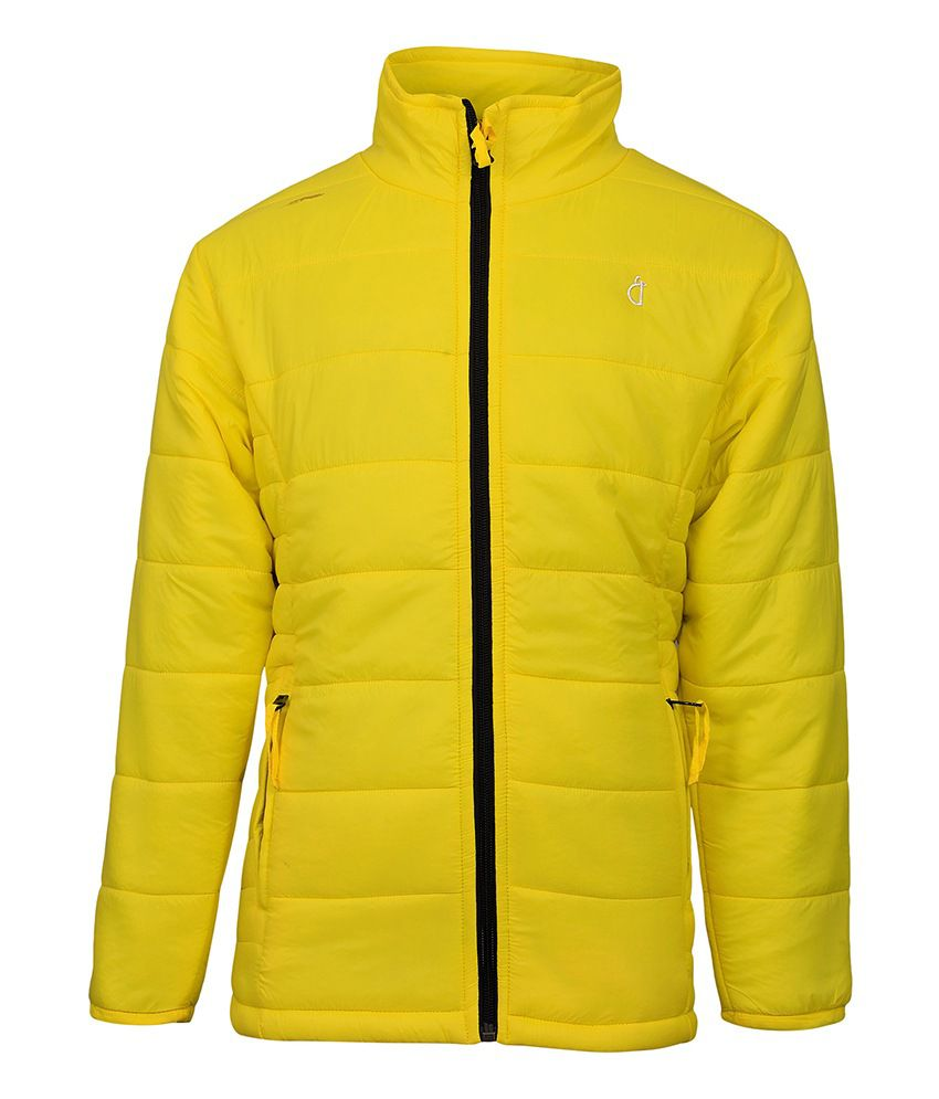 Gini & Jony Yellow Full Sleeves Jacket