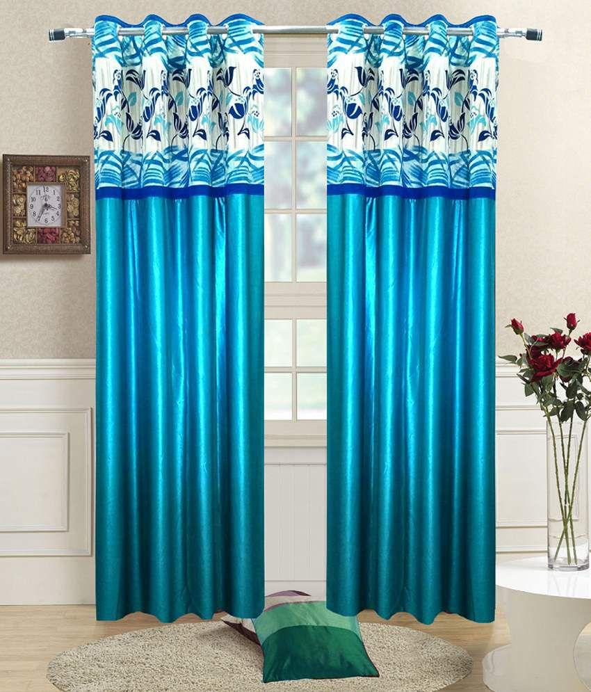 Homefab India Set of 2 Window Eyelet Curtains