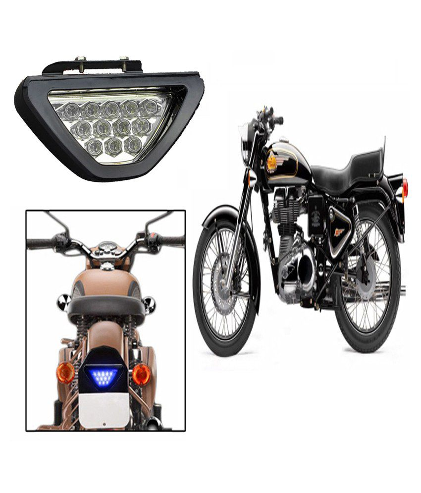 Capeshopper Led Brake Light With Flasher For Royal Enfield Bullet
