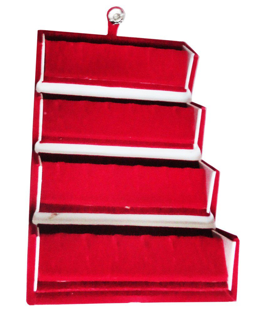 Atorakushon Combo deal earring folder box ear ring box and 1 ring box jewellery gift case