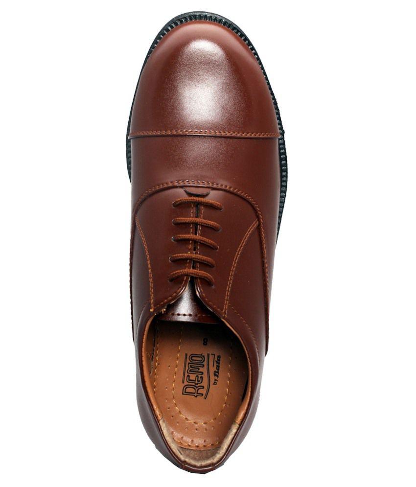 Bata Brown Formal Shoes Online