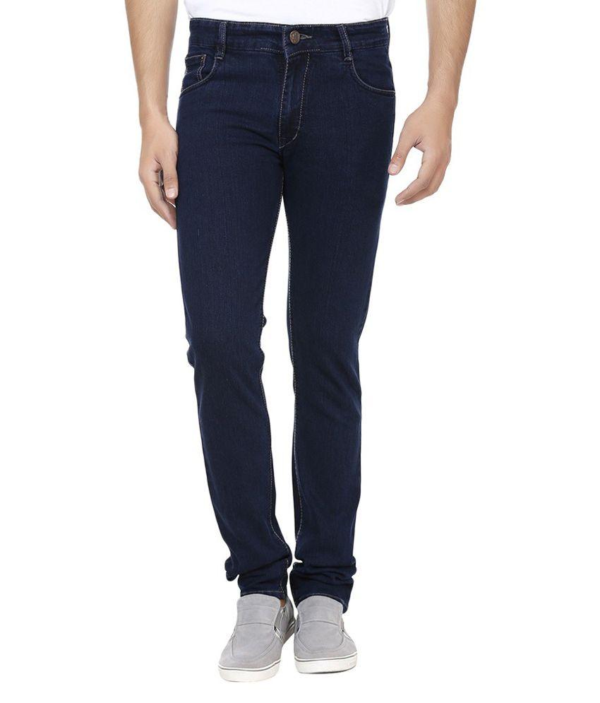 Ansh Fashion Wear Fashion Wear Blue Regular Fit Jeans