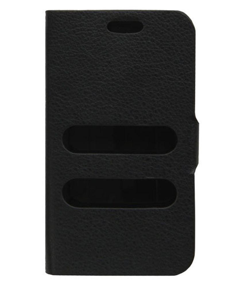 Samshi Flip Cover for Sony Ericsson Xperia ARC -LT15I - Black