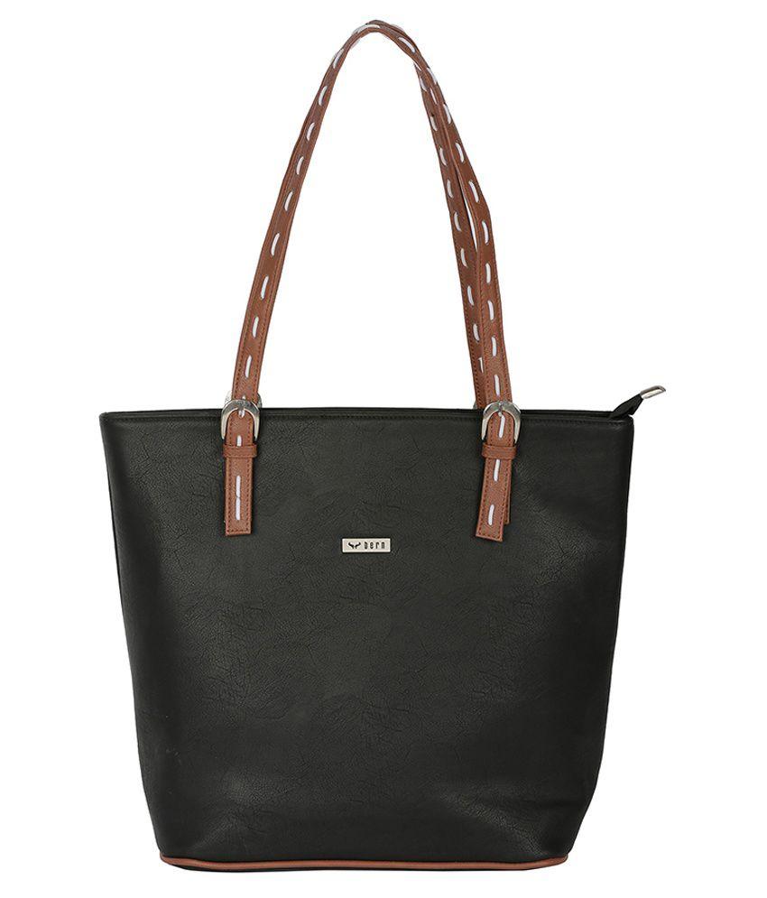 Bern Black Hand Bag