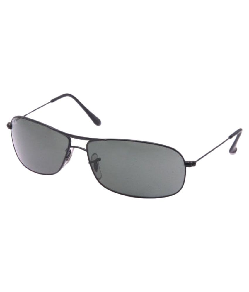 ec34e713f Ray-Ban RB3411 Black Aviator Sunglasses - Buy Ray-Ban RB3411 Black Aviator  Sunglasses Online at Low Price - Snapdeal