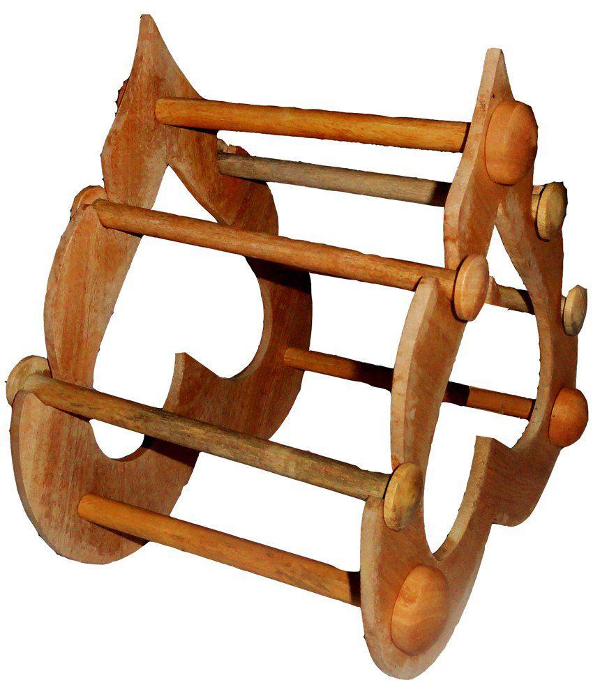 Atorakushon 4 Roll Wooden Designer Export Quality Bangles Stand ...