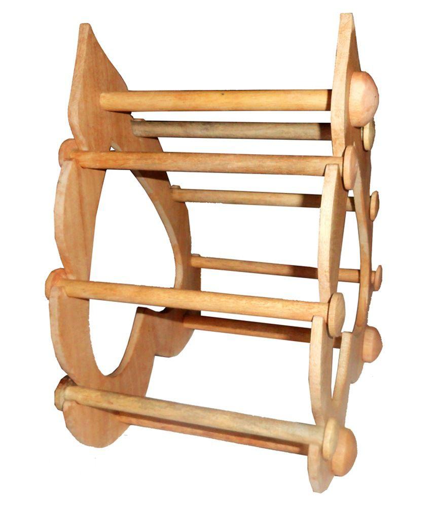 Atorakushon 6 Roll Wooden Designer Export Quality Bangles Stand Buy