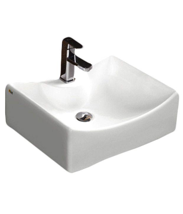 Buy Bell Sanitaryware White Wash Basin Online At Low Price