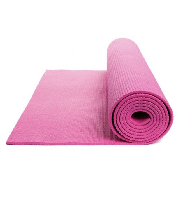Stc Pink Yoga Mat 6mm Buy Online At Best Price On Snapdeal