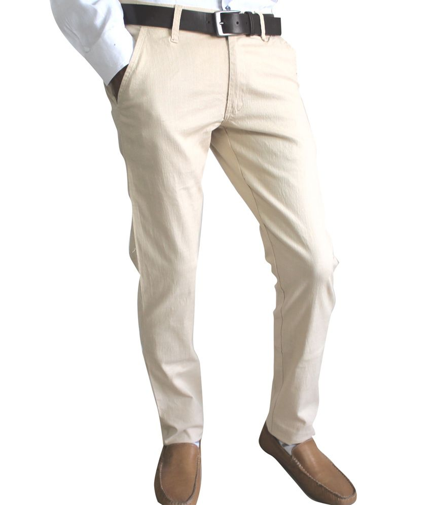 2eef20991e2 Vasnm Beige Linen Semi Formal Trouser Vasnm Beige Linen Semi Formal Trouser  ...