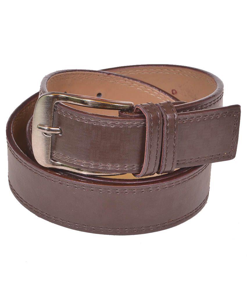 Daller Brown Formal Belt For Men