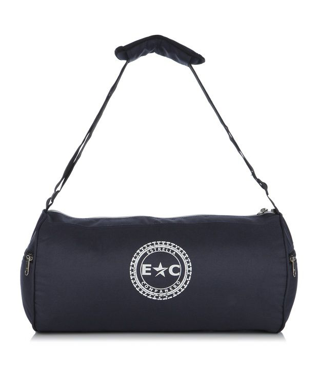 Estrella Companero Blue Polyester Young Gym Bag