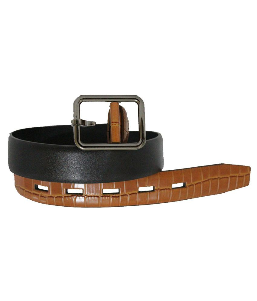 Zuby Brown Leather Belt