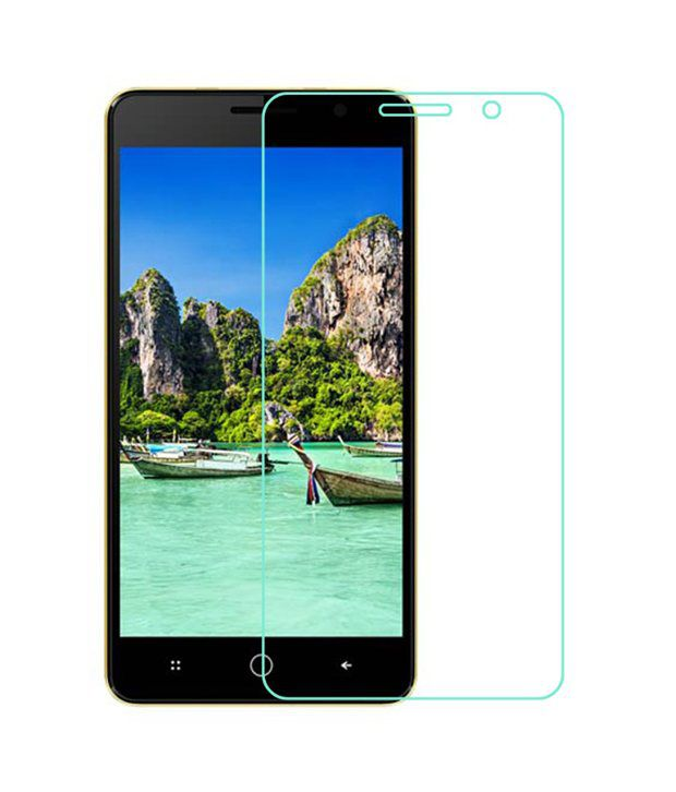 Intex Aqua Power Tempered Glass Screen Guard by ZYME