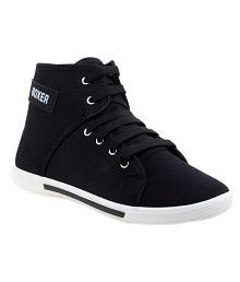 Clymb Black Sneaker Shoes