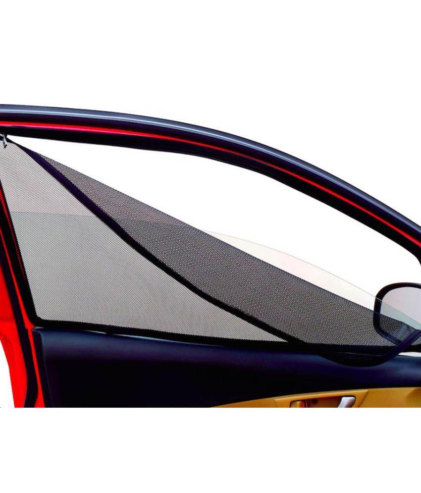 CoverKraft Renault Lodgy Magnetic Window Sunshade with Zip