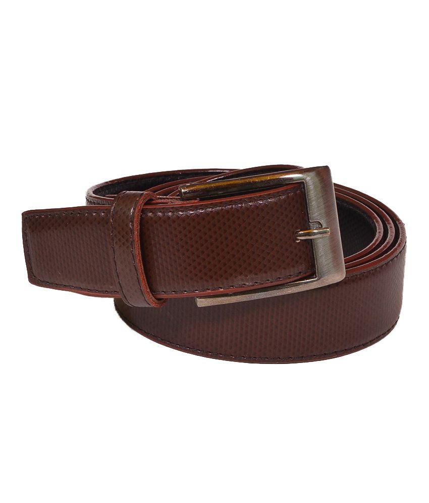 Daller Designer Brown Casual Belt
