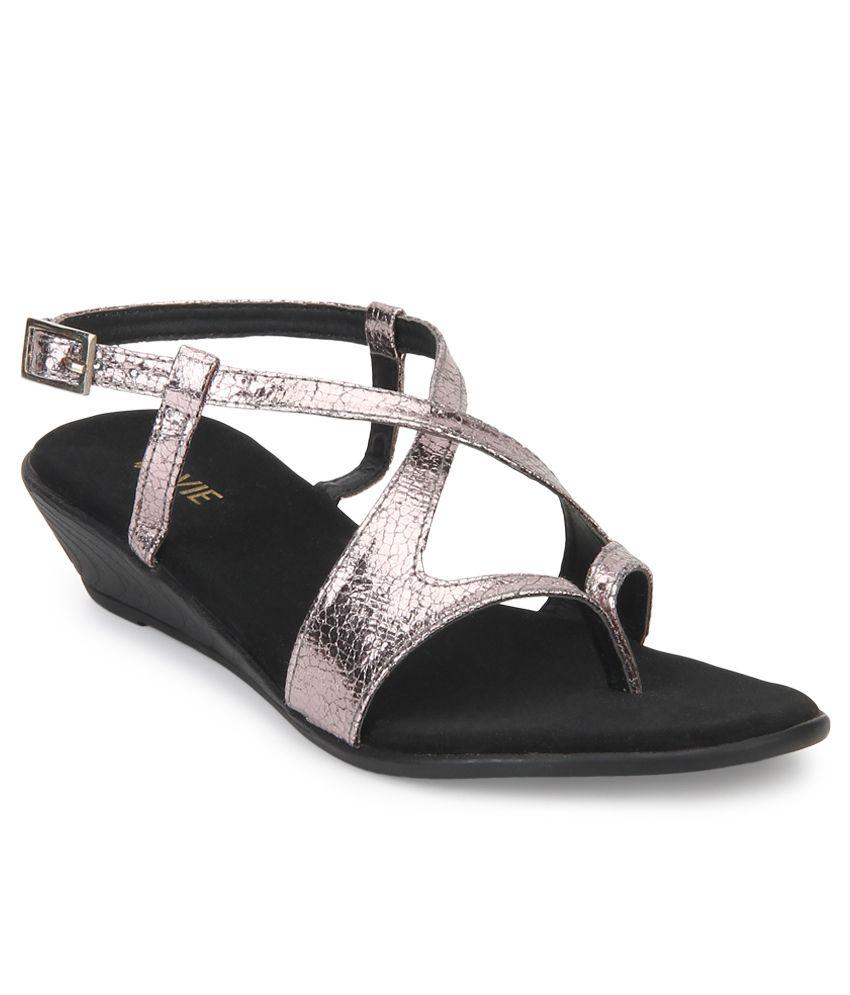 Lavie Silver Heeled Sandal