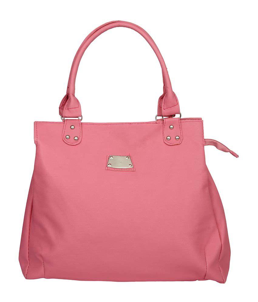 Prepra Aster Handbag Light Pink Color